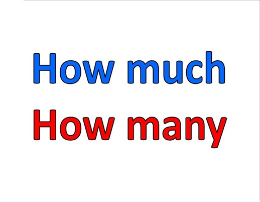 How much